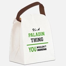 Cute Paladin Canvas Lunch Bag