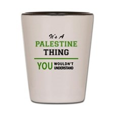 Unique Palestine Shot Glass