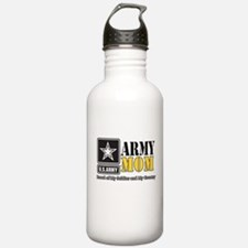 Army Mom Proud Water Bottle