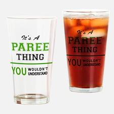 Cute Paree Drinking Glass