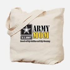 Army Mom Proud Tote Bag