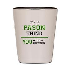 Cute Pason Shot Glass