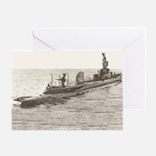 USS SPINAX Greeting Card