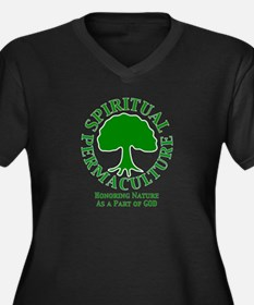 Spiritual Permaculture Plus Size T-Shirt