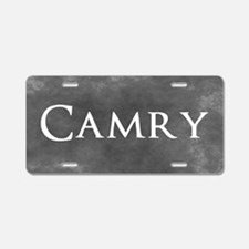 Grey Camry Aluminum License Plate