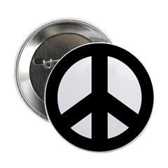 Peace Symbol Button (10 pk)
