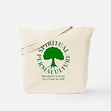 Spiritual Permaculture Tote Bag