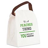 Peach Lunch Bags