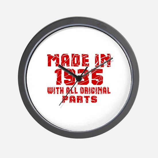 Made In 1935 With All Original Parts Wall Clock