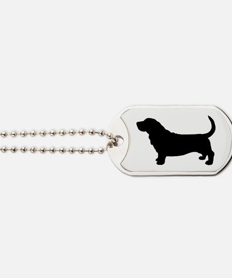 Basset Hound Dog Tags