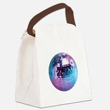 Disco Ball (personalizable) Canvas Lunch Bag