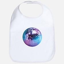 Disco Ball (personalizable) Bib
