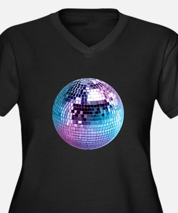 Disco Ball (personalizable) Plus Size T-Shirt