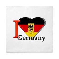 I love Germany Queen Duvet