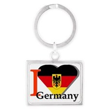 I love Germany Landscape Keychain