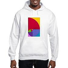 Fibonacci Mathlete Pop Art Hoodie