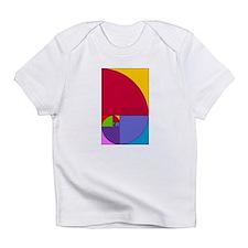 Fibonacci Mathlete Pop Art Infant T-Shirt