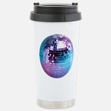 Disco Ball Graphic Travel Mug