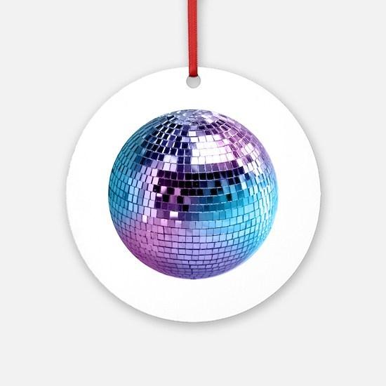Disco Ball Graphic Ornament (Round)