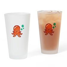 CUTE OCTOPUS Drinking Glass