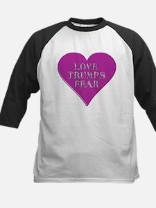 Love Trumps Fear Baseball Jersey
