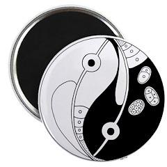 SkopWormyinyang Magnets