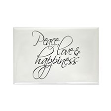 Peace Love Happiness - Magnets