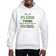 Unique Plush Hoodie