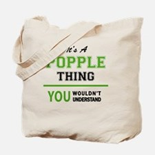 Cute Popple Tote Bag