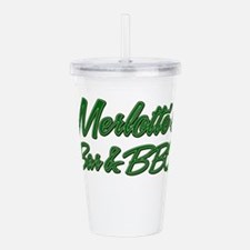 Merlottes Bar and BBQ Acrylic Double-wall Tumbler