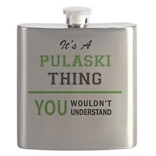 Cute Pulaski Flask