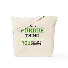 Unique Purdue Tote Bag