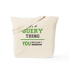Unique Query Tote Bag