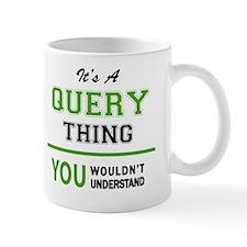 Cute Query Mug