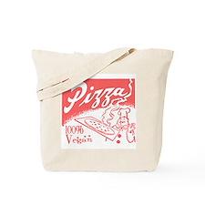 Vegan Pizza Tote Bag