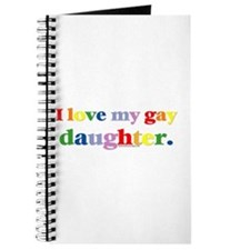 I love my gay daughter. Journal