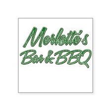 Vintage Merlottes Sticker