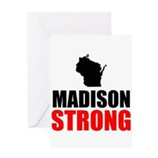 Madison Strong Greeting Cards