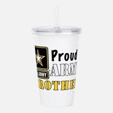 Army Brother Acrylic Double-wall Tumbler