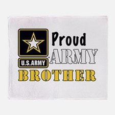 Army Brother Throw Blanket