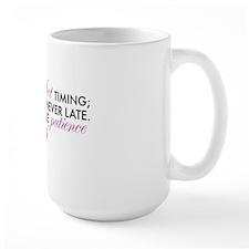 God has Perfect Timing Mug