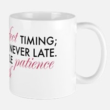 God has Perfect Timing Mug
