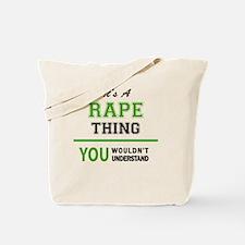 Unique Rape Tote Bag