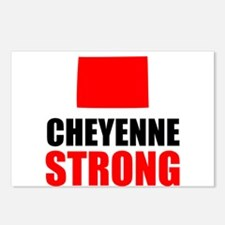 Cheyenne Strong Postcards (Package of 8)