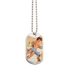 pin up Dog Tags