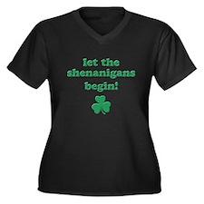 Shenanigans Plus Size T-Shirt