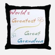 Great Grandma Throw Pillow