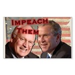 Impeach Them Rectangle Sticker