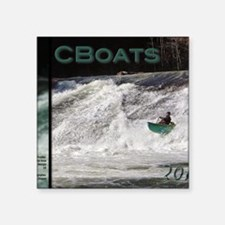 "Cover 2015 Cboats.net Calen Square Sticker 3"" x 3"""