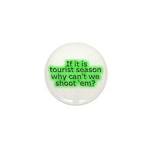 Tourist season Mini Button (10 pack)